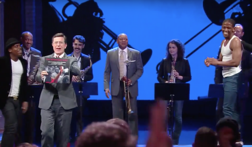 Wynton Marsalis performs on The Late Show with Stephen Colbert
